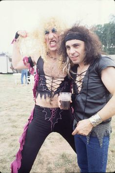 Dee Snider and Ronnie James DIO.............