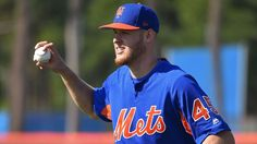 Zack Wheeler is excited about his exhibition start Friday against Houston, his first time pitching in a game for the New York Mets in two years. New York Mets, Espn, Mlb, Las Vegas, Polo Ralph Lauren, Action, Mens Tops, Friday, United States