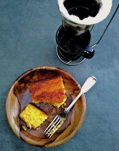 Bolo de pamonha (sem glúten, sem lactose) – COZINHANDO PARA 2 OU 1 Sem Lactose, Brunch, Chocolate Fondue, Pancakes, French Toast, Roll Cakes, Rolls, Breakfast, Brownies