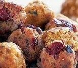 These look perfect for a Thanksgiving potluck - as a bonus, they contain both sausage and cranberry sauce. Yum!