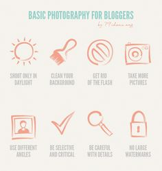 Photography for Bloggers ~ Blogging Tips
