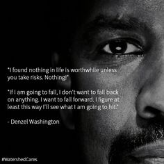 Denzel Washington gives us some inspiring words on why his pain and suffering…