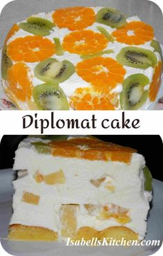 Diplomat cake - isabell's kitchen