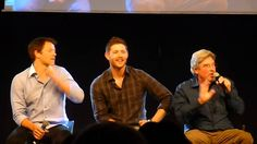 Jibcon 2015 - Jensen Saturday Afternoon Panel with bonus Misha & Bob Pt 2.
