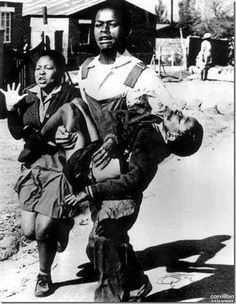 Sam Nzima. South African Photographer. Soweto uprising, South Africa - Hector Pieterson dying.