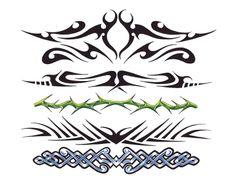 Tribal Band Tattoos Designs