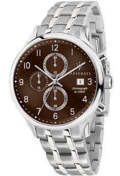 pánske luxusné hodinky Maserati - ušľachtilá oceľ - 741.241.11.MA Maserati, Stainless Steel Bracelet, Omega Watch, Rolex Watches, Gentleman, Bracelets, Silver, Accessories, Jewelry