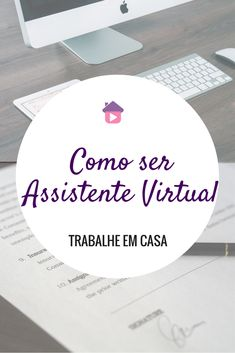 Saiba como ser uma assistente virtual lendo este artigo. Seja uma secretária remota e trabalhe em casa! #assistentevirtual #marketingdigital #secretariaremota Online Work From Home, Work From Home Jobs, Job Motivation, Canal E, Marketing Digital, Career Advice, Virtual Assistant, New Job, Internet Marketing