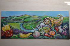 Painting for Duvall and Carnation Wa.farmers Markets