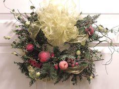 Sugared Fruit Wreath by MemaneseMakins on Etsy, $30.00