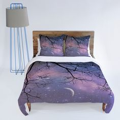 Shannon Clark Twinkle Twinkle Duvet Cover> I want this bed set so much.