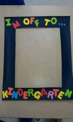 poster board, frames for school teachers, pre-k picture frames, framed keepsakes, graduation picture frames