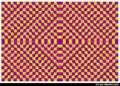 Effets optiques - Illusions de mouvement - Optical illusion - Moving Illusions