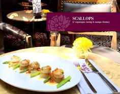 Are you a seafood lover? Do you like scallops, lobster, prawns, squids and fresh fishes?