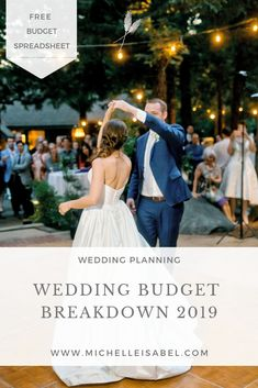 Figure out how to breakdown your wedding budget Includes a free spreadsheet to help you plug and play as well as a list of common wedding expenses. budget Wedding Budget Breakdown 2019 — Michelle Isabel & Co Average Wedding Budget, Wedding Budget Breakdown, Budget Wedding, Plan Your Wedding, Wedding Planner, Wedding Ideas, Budget Bride, Wedding Expenses List, Wedding Budget Spreadsheet