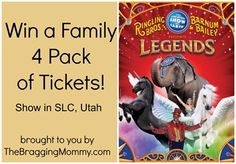 Win tickets to the Circus in Salt Lake City, UT