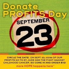 Good eats for a Great cause! Eat Chili's today and 100% goes to St. Jude!!  What you waiting for?  Go!