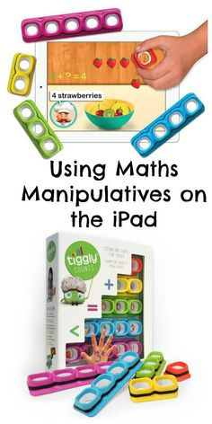 Using maths manipulatives on the iPad. How Tiggly combines digital and physical learning