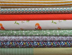 Stitchbird - Tuesday Stack - It's Horseplay - Heather Ross Fabric