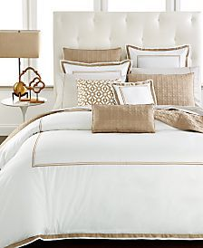 Hotel Collection Embroidered Frame Bedding Collection, Only at Macy's