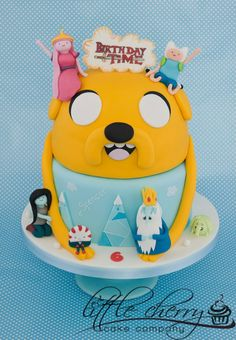 Adventure Time cake that I could NEVER make myself