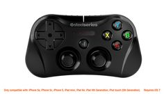 SteelSeries Stratus Wireless Gaming Controller for iPhone, iPad, and iPod Touch - Black * Click image for more details. Ipad 4, Ipad Air 2, Ipad Mini, Computer Gadgets, Iphone Gadgets, Bluetooth, Iphone 5c, Stratus, Gaming