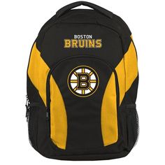 Boston Bruins NHL Draft Day Backpack. Visit SportsFansPlus.com for a Discount Coupon.