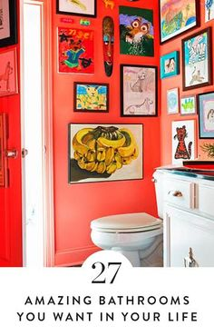 27 Bonkers Amazing Bathrooms  You Want In Your LIfe. If you're redoing or thinking about redoing your bathroom and are in the market for some stylish ideas, look no further. Here's how you remodel your bathroom.
