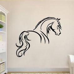 5990 Ft lilában is van Lovas ajándék tárgy ló alak falmatrica faltetoválás gyerekszoba dekoráció