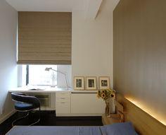 modern window desk
