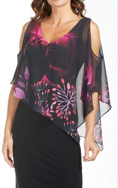 Frank Lyman Floral Chiffon Dress from Canada by Didi's Boutique — Shoptiques Dress Outfits, Fashion Dresses, Floral Chiffon Dress, Chiffon Dresses, Dress Vestidos, Plus Dresses, Fall Dresses, Long Dresses, Formal Dresses