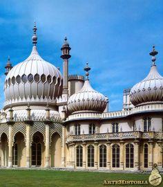 NASH. Royal Pavilion (Brighton) 1815-1822. Historicismo, eclectismo.