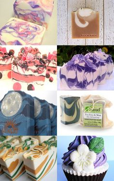 Assorted Beautiful Soaps