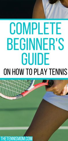 Do you want to learn how to play tennis? This complete guide will help you understand everything you need to know about playing tennis from how tennis scoring works to what tennis gear you need to get started. Tennis Rules, Tennis Gear, Tennis Tips, How To Play Tennis, Tennis Funny, Tennis Lessons, Tennis Workout, Tennis Players Female, Tennis Match