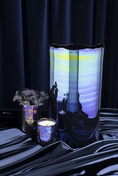 Oil Vase & Candles