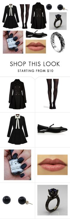 """""""to the undertaker with Ciel"""" by doodlebob3 ❤ liked on Polyvore featuring Ted Baker, SPANX, Repetto and John Hardy"""