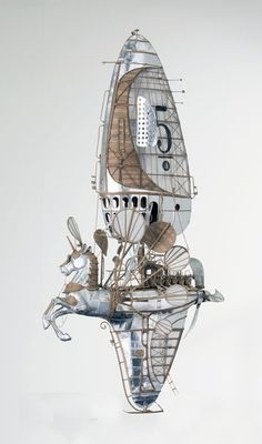 Les magnifique Vaisseaux de Cartons de Jeroen van Kesteren (5)