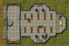 Tactical Map - Church of Sehanine by ~DLIMedia on deviantART
