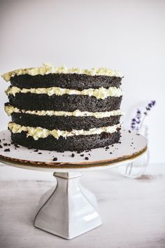 Infusing your buttercream frosting with an herb or flower like lavender elevates the flavor of your dessert. Learn how in this delicious recipe for chocolate cake with lavender infused buttercream!