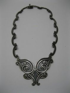 Mexican Margot de Taxco Sterling Silver Necklace