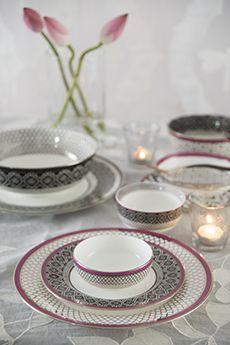 Bidri | Dinnerware Collection | Goodearth.in