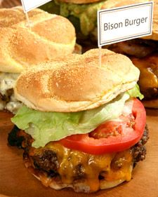 Ted Turner shared this better-than-beef burger recipe with Martha. Bison meat tastes similar to beef, but is leaner. Cook them up and give them a generous sprinkling of Ted's Special Spice Mixture and a slice of cheddar.