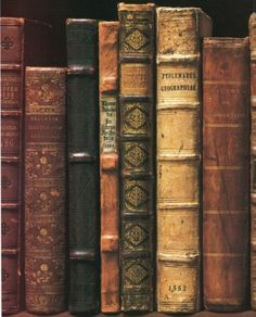 """Antique & vintage books with beautiful bindings add distinctive character & charm to decor vignettes"" Carolyn Williams <a class=""pintag searchlink"" data-query=""%23decorating_with_"" data-type=""hashtag"" href=""/search/?q=%23decorating_with_&rs=hashtag"" title=""#decorating_with_ search Pinterest"">#decorating_with_</a>#books"
