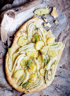 // fennel & potato galette
