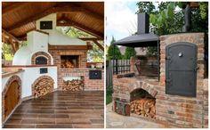 Úžasný jablkový koláč s náplňou: Jablká len uložte do formy a zalejte cestom - tak výborný jablčnk ste ešte nejedli! Outdoor Fireplace Patio, Outdoor Living, Outdoor Decor, Ale, Planters, Outdoor Structures, Cabin, House Styles, Home Decor