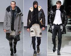 Мужские куртки-парки