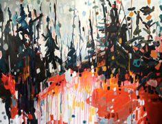 Artist Donna Andreychuk - railway city arts crawl