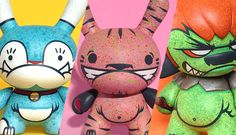 More Kinkis Mutantes Custom Kidrobot Series from Flüke Graf!