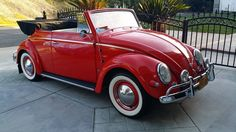Tony Chavez, from Los Angeles, California, U.S.A. His 1957 VW Beetle Cabriolet.