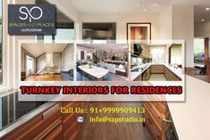Turnkey Interiors in Gurgaon Kitchen And Bath Design, Building A New Home, Top Interior Designers, New Builds, Design Consultant, New Construction, Design Process, Furniture Design, New Homes